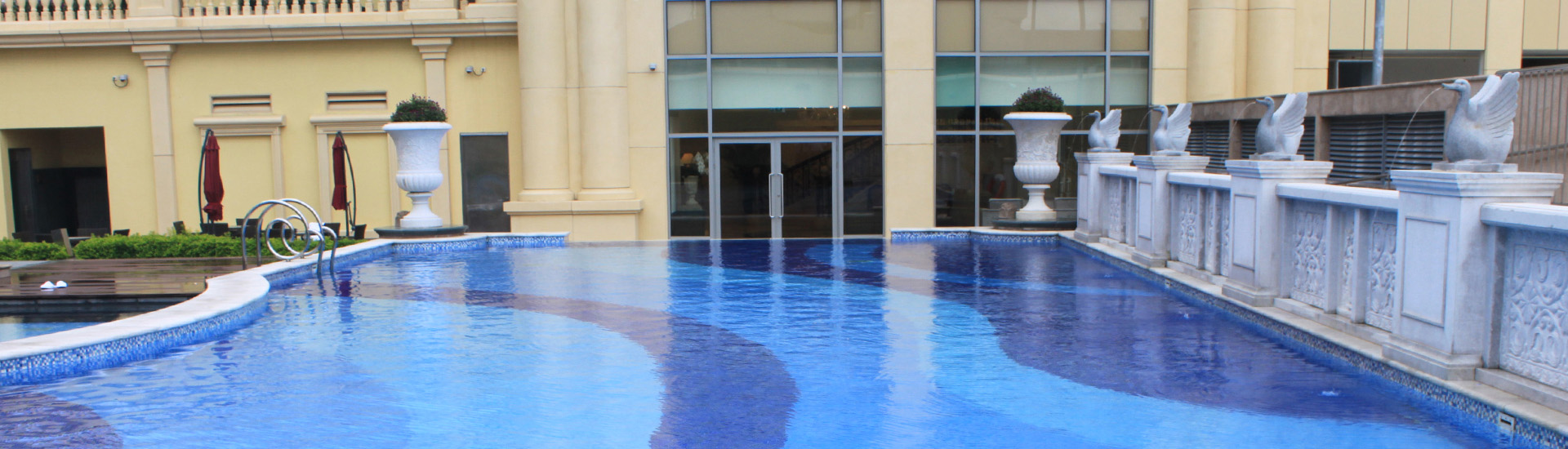 Hotel Facilities Swimming Pool Banner